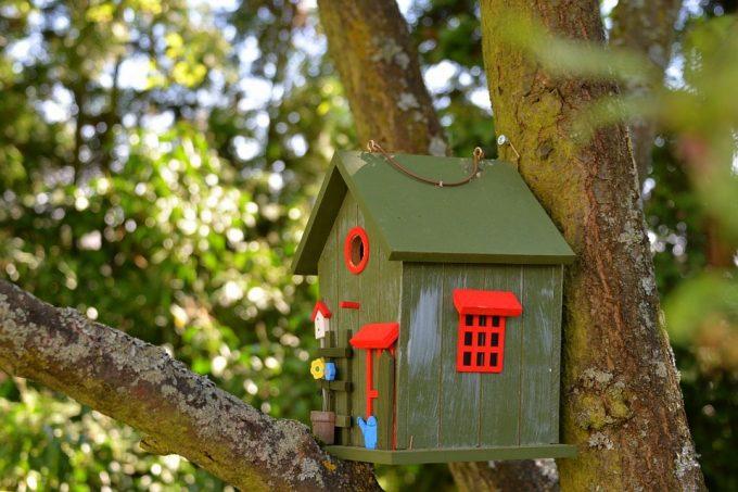 Как се прави къщичка за птици?