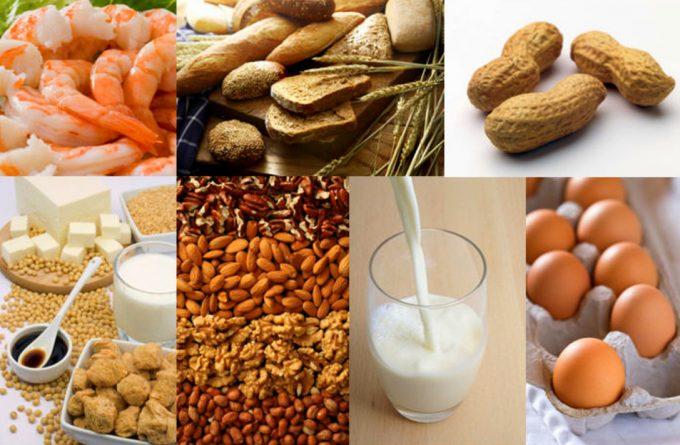Алергените в храните